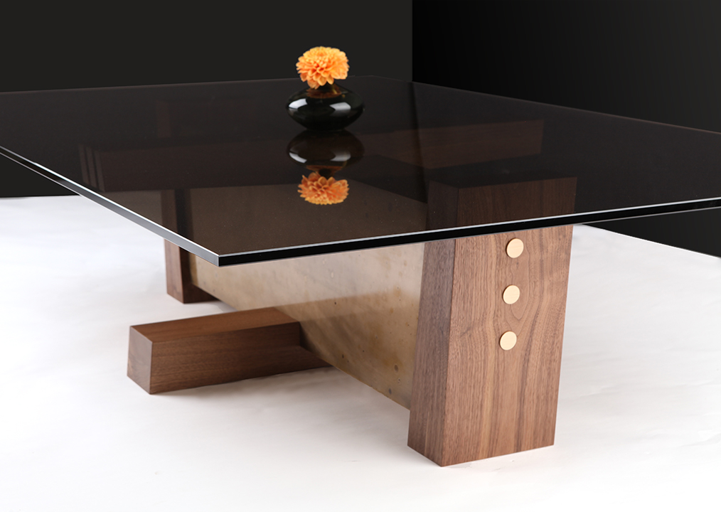 Smoked Glass Table