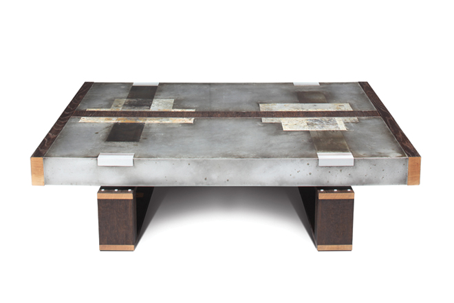 Artistic Zinc Coffee Table