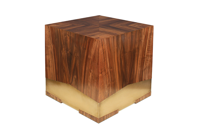 Single piece square table