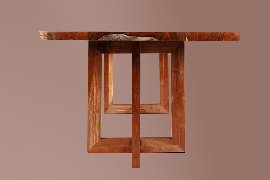 berlin dining table studio roeper. Black Bedroom Furniture Sets. Home Design Ideas